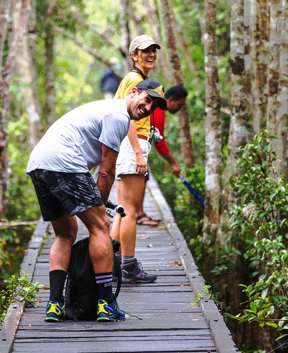 Travelee's Trek With Orangutan Trekking Tours